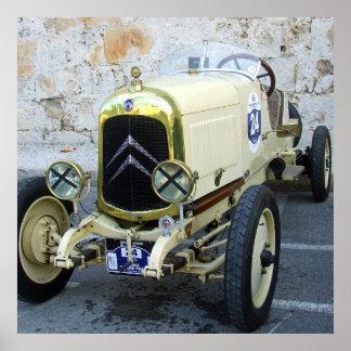 Car-Vintage Poster