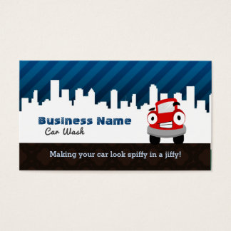 Car Wash business cards