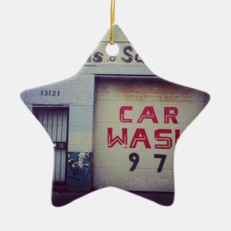 Car Wash Ceramic Star Decoration
