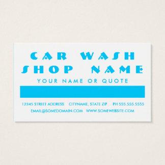 CAR WASH customer appreciation (mod squares)
