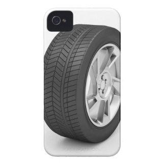 Car wheel iPhone 4 case