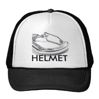 carabiner, HELMET Mesh Hat