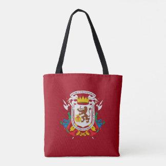 caracas city flag venezuela symbol tote bag
