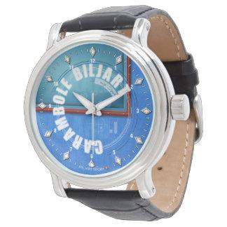 Carambole Biljart Horloge van het empty Watch