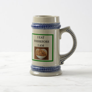 caramel beer stein