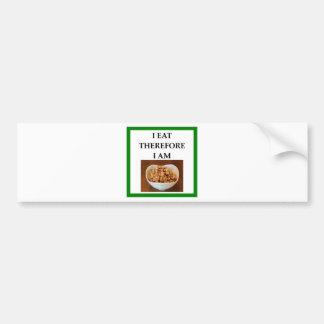 caramel bumper sticker