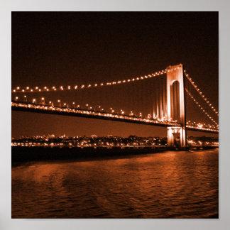 Caramel-cola Bridge print