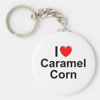 Caramel Corn Key Ring