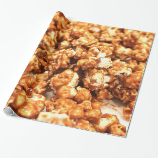 Caramel Corn Wrapping Paper