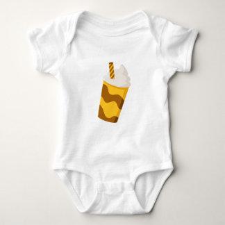 Caramel Milkshake Baby Bodysuit