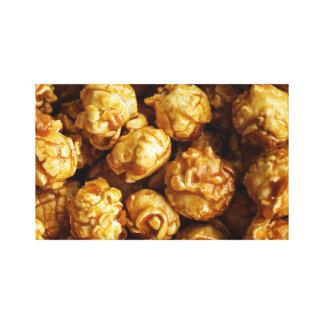 Caramel Popcorn Canvas Print