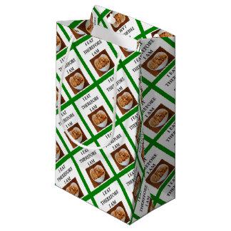 caramel small gift bag