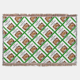 caramel throw blanket