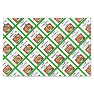 caramel tissue paper