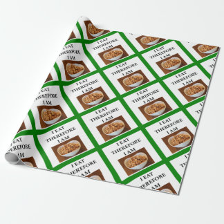 caramel wrapping paper