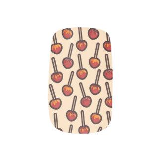 Caramelized Apples Minx Nail Art