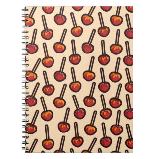 Caramelized Apples Spiral Notebook