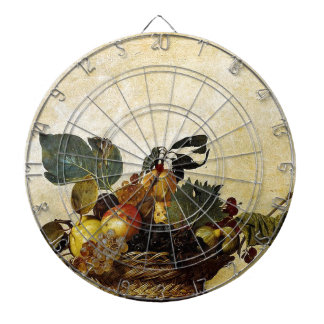 Caravaggio - Basket of Fruit - Classic Artwork Dartboard