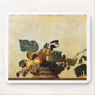 Caravaggio - Basket of Fruit - Classic Artwork Mouse Pad