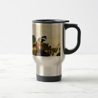 Caravaggio - Basket of Fruit - Classic Artwork Travel Mug