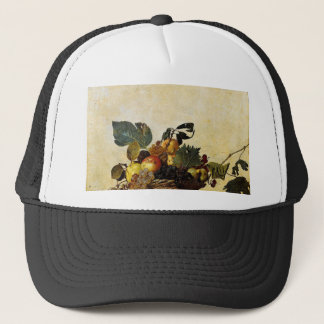 Caravaggio - Basket of Fruit - Classic Artwork Trucker Hat