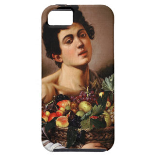 Caravaggio - Boy with a Basket of Fruit Artwork Case For The iPhone 5