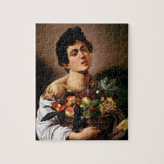 Caravaggio - Boy with a Basket of Fruit Artwork Jigsaw Puzzle
