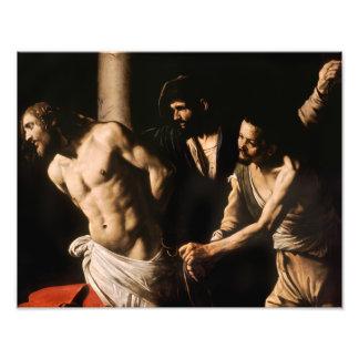 Caravaggio - Christ at the Column Art Photo
