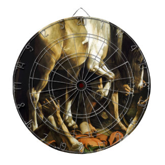 Caravaggio - Conversion on the Way to Damascus Dartboard