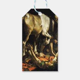 Caravaggio - Conversion on the Way to Damascus Gift Tags