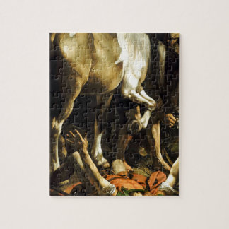 Caravaggio - Conversion on the Way to Damascus Jigsaw Puzzle