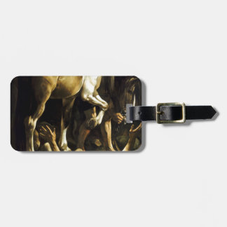 Caravaggio - Conversion on the Way to Damascus Luggage Tag