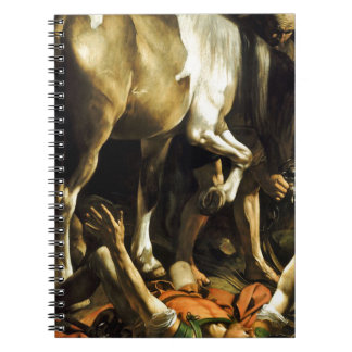 Caravaggio - Conversion on the Way to Damascus Notebooks
