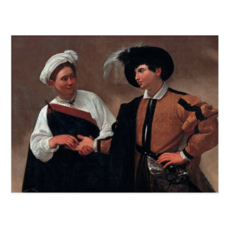 Caravaggio - Good Luck Postcard