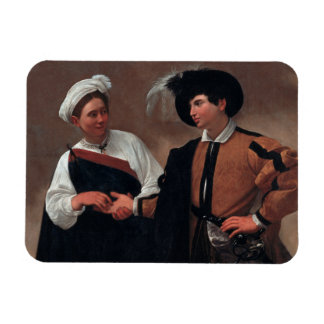 Caravaggio - Good Luck Rectangular Photo Magnet
