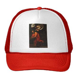 Caravaggio- Inspiration of Saint Matthew Mesh Hat