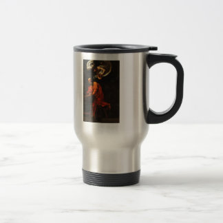 Caravaggio- Inspiration of Saint Matthew Coffee Mug