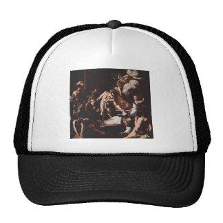 Caravaggio- Martyrdom of Saint Matthew Hats