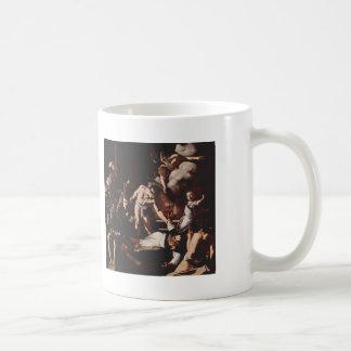 Caravaggio- Martyrdom of Saint Matthew Coffee Mugs