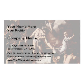 Caravaggio- Martyrdom of Saint Matthew Pack Of Standard Business Cards