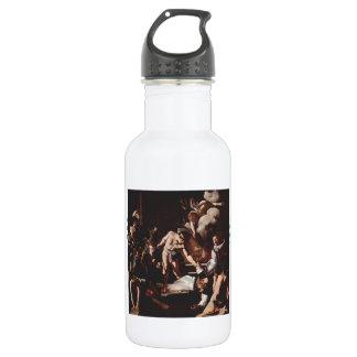 Caravaggio- Martyrdom of Saint Matthew 532 Ml Water Bottle