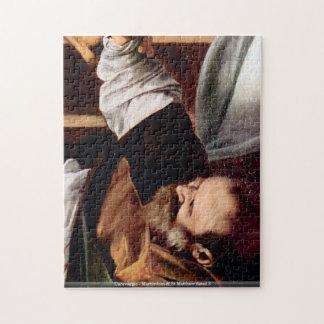 Caravaggio-Martyrdom of St Matthew detail 3 puzzle