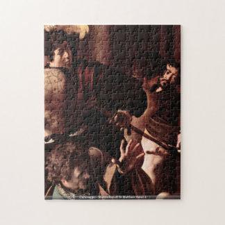 Caravaggio - Martyrdom of St Matthew detail 4 Jigsaw Puzzle