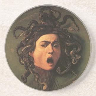 Caravaggio - Medusa - Classic Italian Artwork Coaster