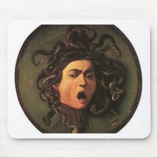 Caravaggio - Medusa - Classic Italian Artwork Mouse Pad