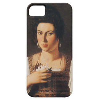 Caravaggio - Portrait of a Courtesan Painting Barely There iPhone 5 Case