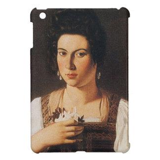Caravaggio - Portrait of a Courtesan Painting Case For The iPad Mini