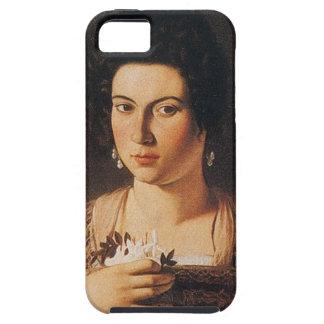 Caravaggio - Portrait of a Courtesan Painting iPhone 5 Case