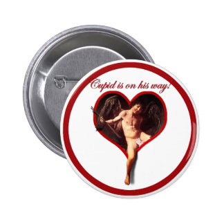 Caravaggio s Cupid s Coming for Valentine s Day Pin