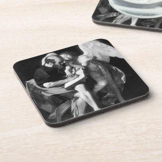 Caravaggio- Saint Matthew and the Angel Coasters
